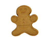 Freshly baked Gingerbread Man Royalty Free Stock Photos