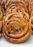 Freshly baked goods in organic bakery Royalty Free Stock Images