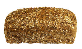 Freshly baked healthy sprouted whole grain bread stock photography