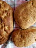 Freshly baked homemade bread Stock Image