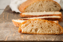 Freshly baked homemade bread Royalty Free Stock Image