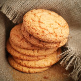 Freshly baked homemade cookies Stock Photos