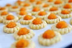 Freshly baked homemade pineapple tarts Stock Photos