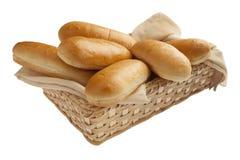 Freshly baked hot dog buns Stock Image