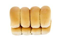 Freshly baked hotdog bread Royalty Free Stock Photos