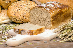 Freshly baked loaf of bread Royalty Free Stock Photo