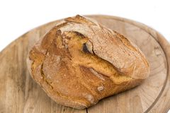 Freshly baked loaf of bread Royalty Free Stock Photos