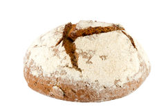 Freshly baked loaf of homemade rye bread Stock Photography