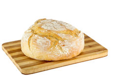 Freshly baked loaf of homemade white bread Royalty Free Stock Photography