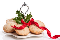 Freshly Baked Mince Pies Stock Photography