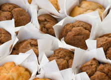 Freshly baked muffin cakes Stock Images