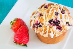 Freshly Baked Muffin Stock Image