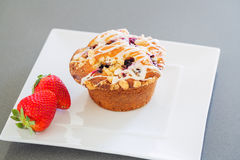 Freshly Baked Muffin Royalty Free Stock Photo