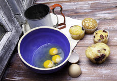 Making Muffins Royalty Free Stock Photo