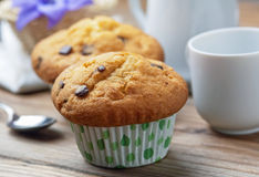Freshly baked muffins Stock Photography