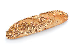Freshly baked multigrain bread and wheat Royalty Free Stock Photos