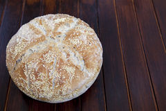 Organic bread with various seeds Royalty Free Stock Image