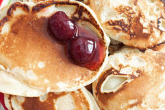 Freshly baked pancakes Stock Photography