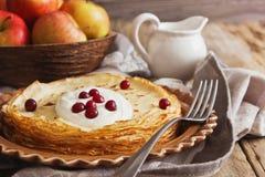 Freshly baked pancakes Stock Image