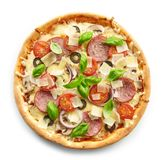Freshly baked pizza Royalty Free Stock Photos