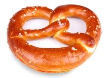 Freshly baked pretzel  Stock Photo