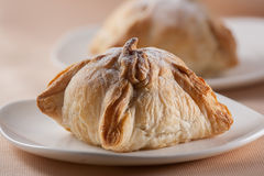 Freshly baked puff pastry Stock Photo