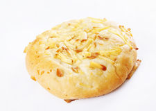 Freshly baked roll with cheese Stock Photos