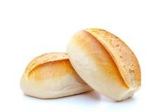 Freshly baked rolls Stock Photos