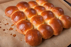Freshly baked rolls only taken out of the oven Royalty Free Stock Photo