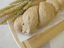 Freshly baked root bread Stock Photo