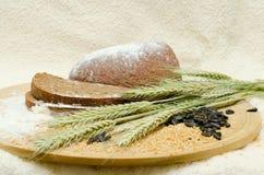 Freshly baked rye bread Stock Images