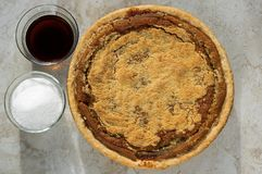 Freshly baked shoofly pie Stock Photography