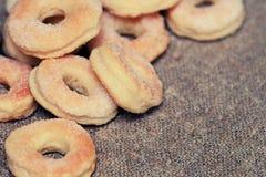 Freshly baked sugar cookies Stock Photo