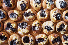 Freshly Baked Sweet Buns Royalty Free Stock Image
