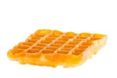 Freshly baked waffle brightened Royalty Free Stock Images
