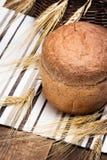 Freshly baked wheat bran bread Stock Image