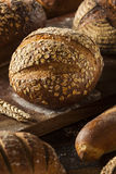 Freshly Baked Whole Wheat Bread Stock Photo