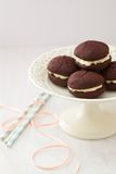 Freshly Baked Whoopie Pies Stock Photos