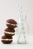Freshly Baked Whoopie Pies Stock Photography
