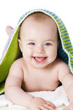 Freshly bathed baby Royalty Free Stock Photography