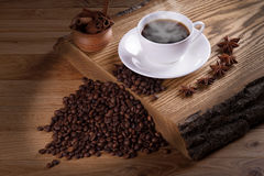 Freshly brewed coffe. Stock Images