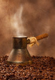 Freshly brewed coffee Royalty Free Stock Photos