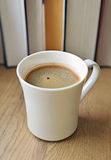 Freshly brewed coffee cup. Stock Photo