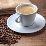 Freshly brewed coffee Stock Images