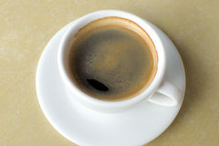 A freshly brewed coffee Stock Photos