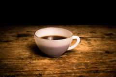 Freshly brewed cup of coffee Stock Photos