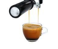 Freshly brewed espresso Royalty Free Stock Images