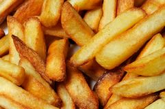 Freshly cooked French fries. Stock Photos