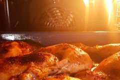 Freshly cooked at home chicken legs Royalty Free Stock Images