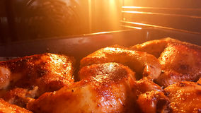 Freshly cooked at home chicken legs Royalty Free Stock Image